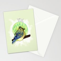 Spring birdy / Nr. 6 Stationery Cards