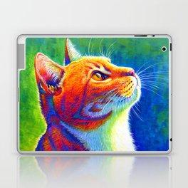 Rainbow Cat Portrait Laptop & iPad Skin