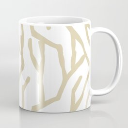 Golden Coral Coffee Mug