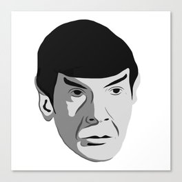 Highly Illogical Canvas Print