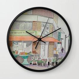Pape & Bloor Toronto Wall Clock
