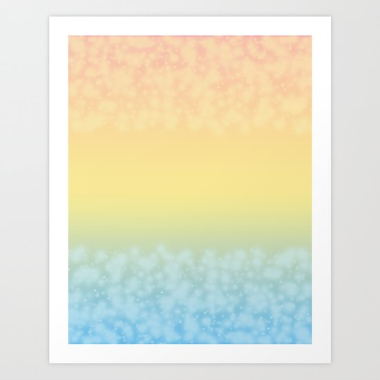Tropical heat . Art Print