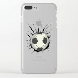Breakthrough Football Clear iPhone Case