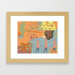 Easy Eater 2. Framed Art Print