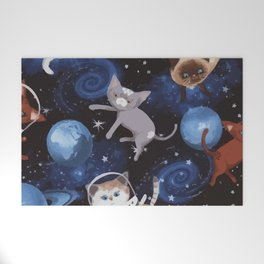 Cat Space Welcome Mat