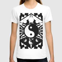 Yin Yang Orbit T-shirt