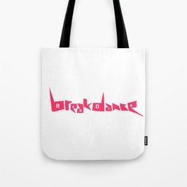 Breakdance Pink Tote Bag