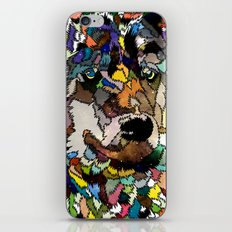 Space wolf iPhone & iPod Skin