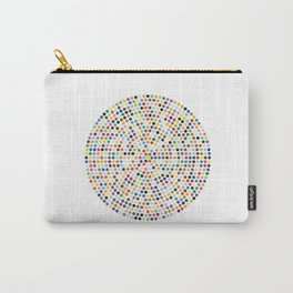 Colorful Explosion of Dots Carry-All Pouch