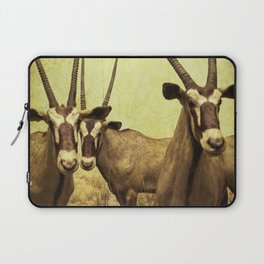 Hi, we are the antelopes. Laptop Sleeve