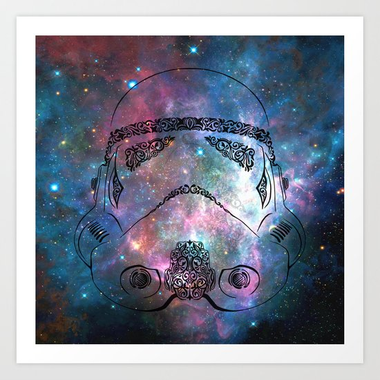 Soldier galaxy Art Print