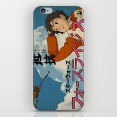 The Force Rises iPhone & iPod Skin
