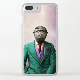 Bradley was a Young Gorilla with BIG Dreams Clear iPhone Case