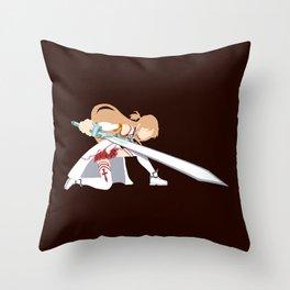 SAO Asuna Crouch Throw Pillow