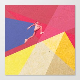 human dynamic #5 Canvas Print