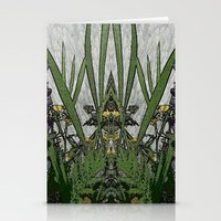 plants Stationery Cards featuring Plants by Gun Alfsdotter