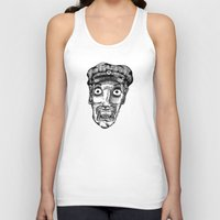 taxi driver Tank Tops featuring Taxi Driver by Addison Karl