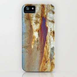 Tree Bark Abstract # 19 iPhone Case