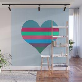 Karen's Heart Wall Mural