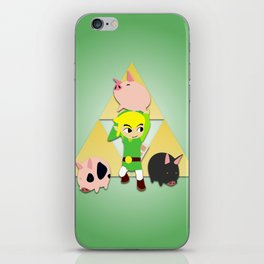Wind Waker Pigs iPhone Skin