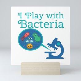 Funny Biology Meme Teacher Student Microskop Gift Mini Art Print