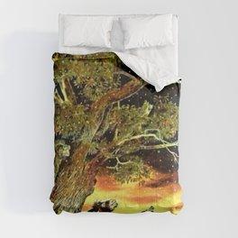 Le coq qui ne dors jamais.... Comforters