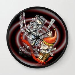 Kasperklatsche Wall Clock