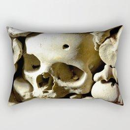 skull hole Rectangular Pillow