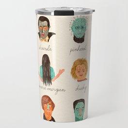 Twelve Horror Heros  Travel Mug