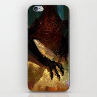 smaug iPhone & iPod Skins featuring princess smaug by Greyson J