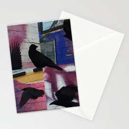 Raven in the City Stationery Cards