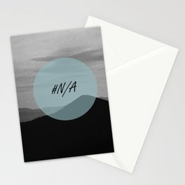 Fine mountains lines - #N/A Stationery Cards