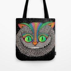 Alice in wonderland art fan by Luna Portnoi Tote Bag