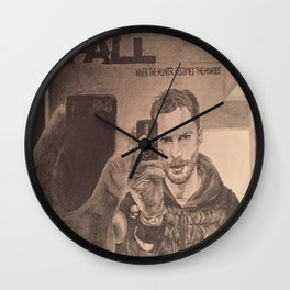 Paul Spector - THE FALL Wall Clock