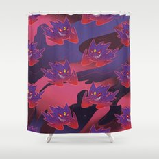 Mega Gengar Shower Curtain
