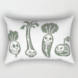X-rays vegetables (white background) Rectangular Pillow