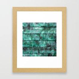 Glazed water flow Framed Art Print