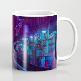 Tokyo Nights / Glitch City / Liam Wong Coffee Mug