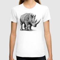 bioworkz T-shirts featuring Rhinoceros by BIOWORKZ