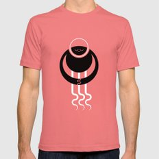 ENCOUNTER - God SMALL Mens Fitted Tee Pomegranate