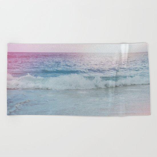 Cali Ocean Vibes Beach Towel