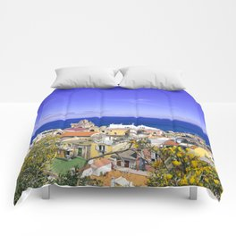 The Pearl Of The Mediterranean Sea Comforters