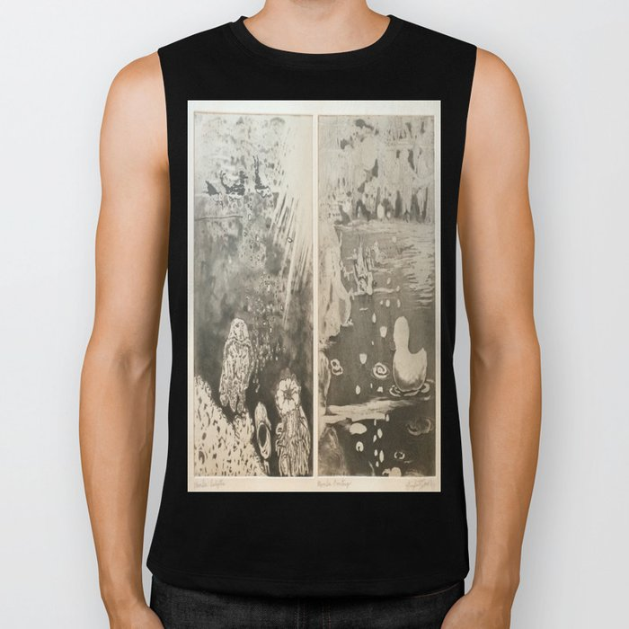Under The Sea. Some things are better down where it's wetter take it from me Biker Tank