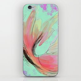 Translucent butterfly iPhone Skin