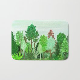 A Day in the Forest Bath Mat