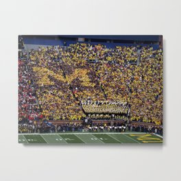 Michigan's Big House Metal Print