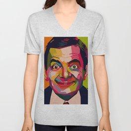 WPAP - Mr. Bean Unisex V-Neck
