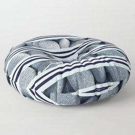 River Rocks Floor Pillow