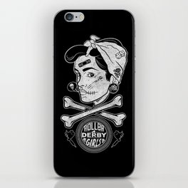 Zombie Roller Derby Girls iPhone Skin