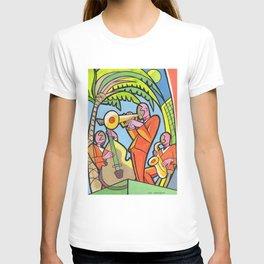 Night Summer Jazz T-shirt